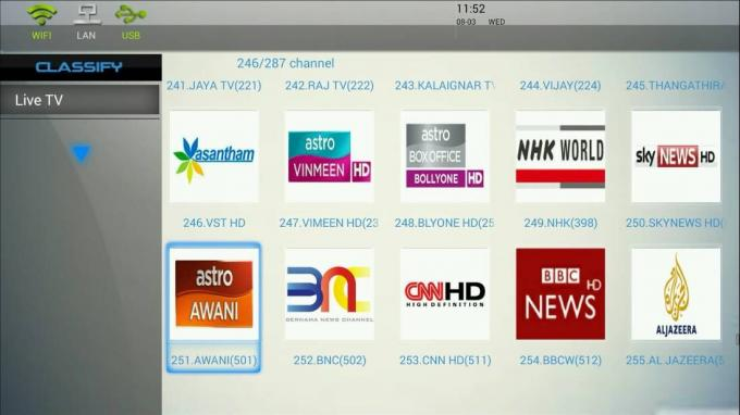 World Cup Iptv Subscription Malaysia 1 / 3 / 6 / 12 Months 3 - 5 Sec Switch Time