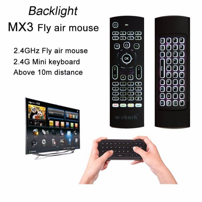 Mx3 Air Mouse Remote , Mouse Remote Control Micro Usb Numeric Characters Switch
