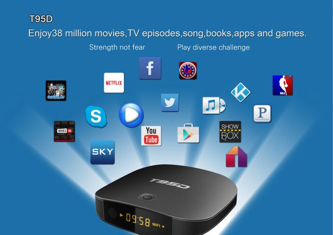 T95D RK3229 Quad Core Android 7.1 4K Best Streaming Smart TV Box