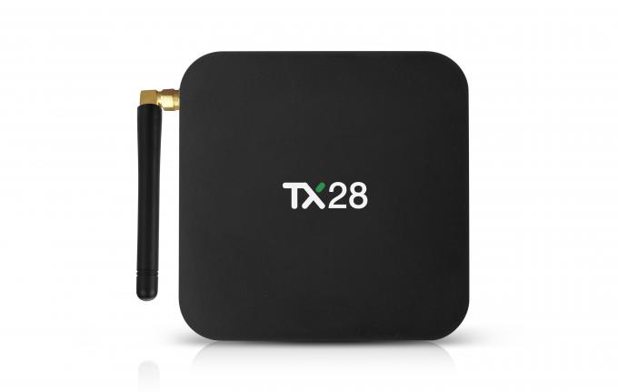 TX28 RK3328 Quad Core KODI Pre-installed with LED Android 7.1 TV Box