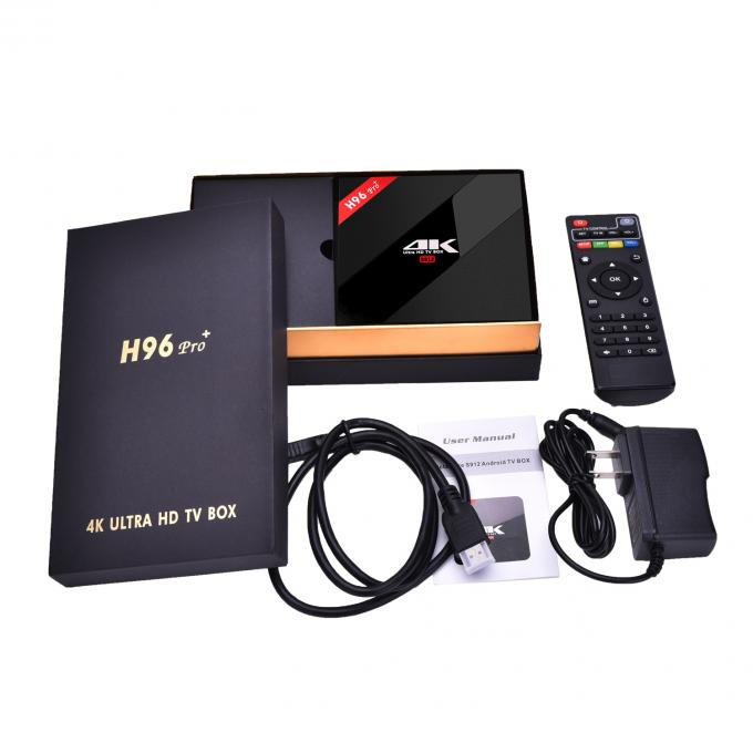 H96 Pro Plus Amlogic S912 Android 7.1 TV Box Dual Wifi 2.4G/5.8GHz
