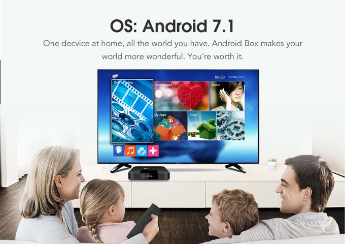 Lastest Android Smart TV Box , Android TV Box Full HD DLNA Function