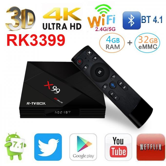 Type - C Port Android Tv Streaming Box Kodi 18.0 Pre - Installled