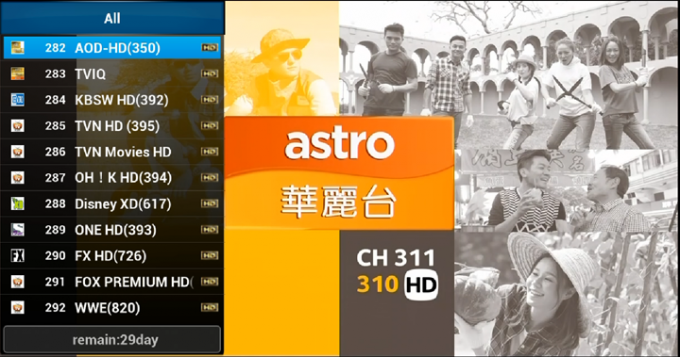 Smart ASSP Hdtv Subscription Malaysia Fast Speed For Android Tablet PC
