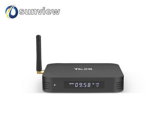 China TX28 RK3328 Quad Core Full HD with LED Android 7.1 Smart TV Box supplier