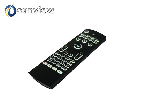China IR Learning Air Mouse Remote , Android Tv Box Remote Multimedia supplier