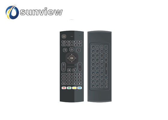 China MX3 - L Air Mouse Remote With Backlit Micro USB Interface Rubber  Button supplier