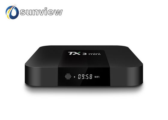 China Dual Audio Stereo Latest Android Tv Box , Wireless Android Tv Box Android 7.1 Os supplier
