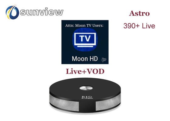 China SG Moon Iptv Apk 1 Month Renew Signal Stable More Than 320 Live Channels supplier