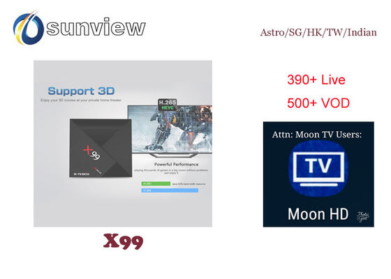 China Taiwan Moon Iptv Apk , Hk Iptv App Android 1 / 3 / 6 / 12 Months Subscription supplier