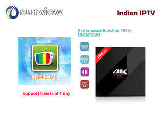 China VOD Films Iptv Hd Box Indian Channels  Full Astro Updated Online Automatically supplier
