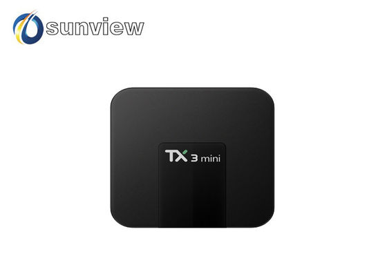 China Lastest Android Smart TV Box , Android TV Box Full HD DLNA Function factory