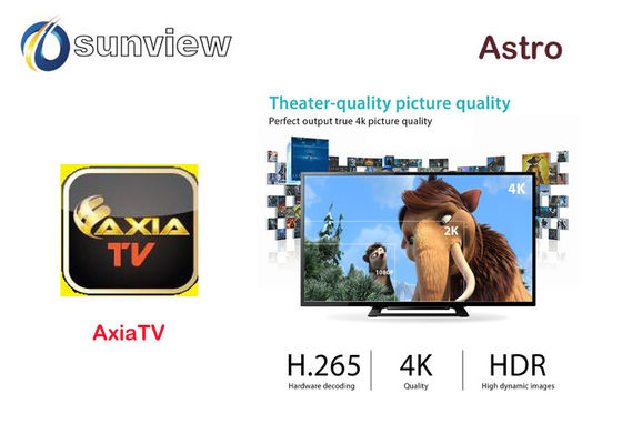 Internet 1080p Full Astro Android Tv Box Iptv 1 / 3 / 6 / 12 Months Subscription