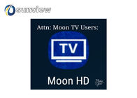 1/3/6/12 months subscription Moontv HD apk 390+ Live IPTV android